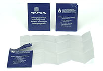 Towelettes, isopropanol impregnated