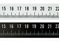 Detail of photo ruler.